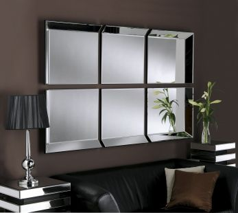 BYBLOS 6 PANEL MIRROR : sectional mirrors - Sectionals, Sofas & Couches