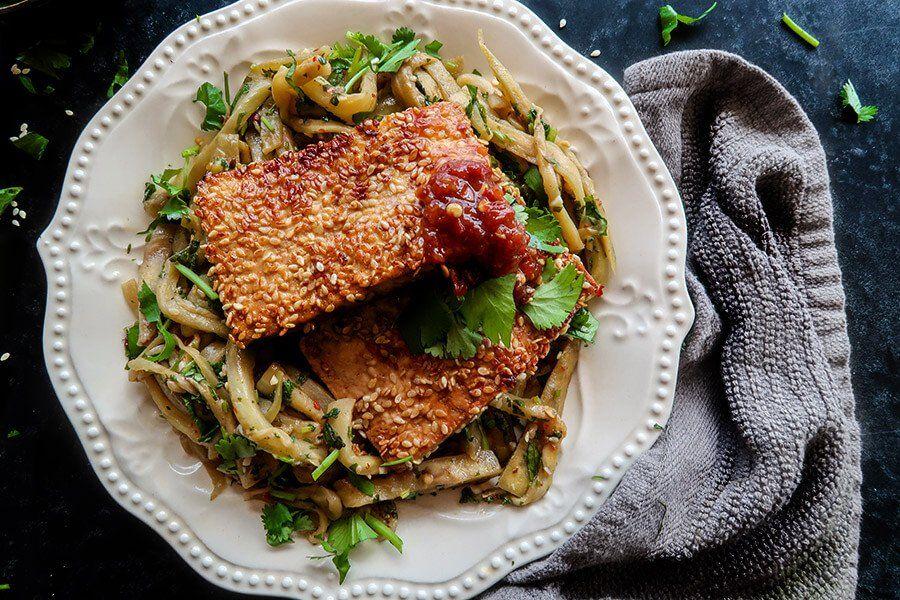 Vegan Sesame Tofu And Eggplant Ruled Me Recipe Ketogenic Recipes Dinner Vegetarian Recipes Diy Food Recipes