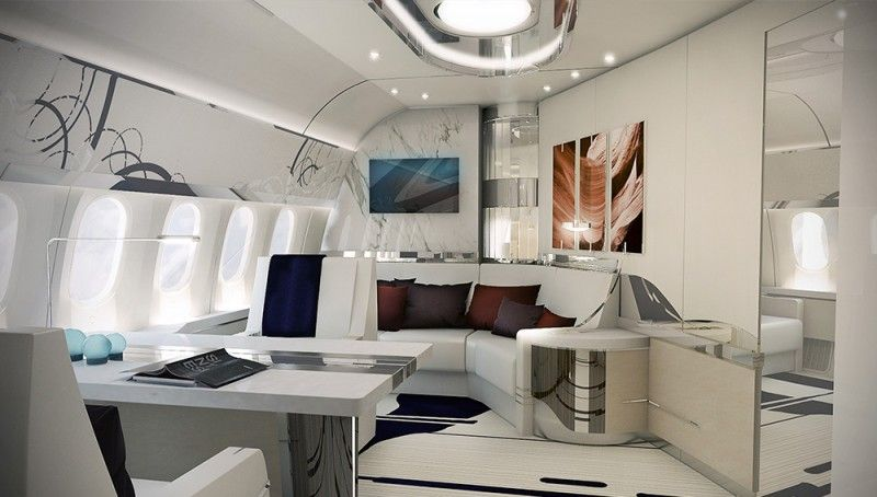 Step Inside The Custom Interior Of This Boeing 787 9 Dreamliner