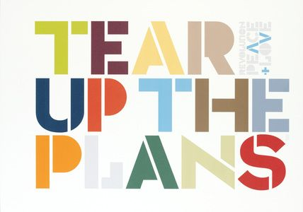 Tear Up the Plans | Neville Brody | Pinterest | Neville ...