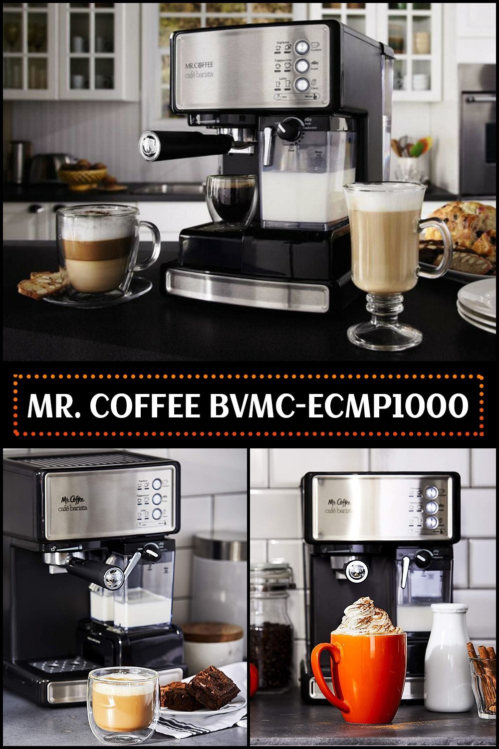 Mr. Coffee Cafe Barista BVMCECMP1000 Review Cafe