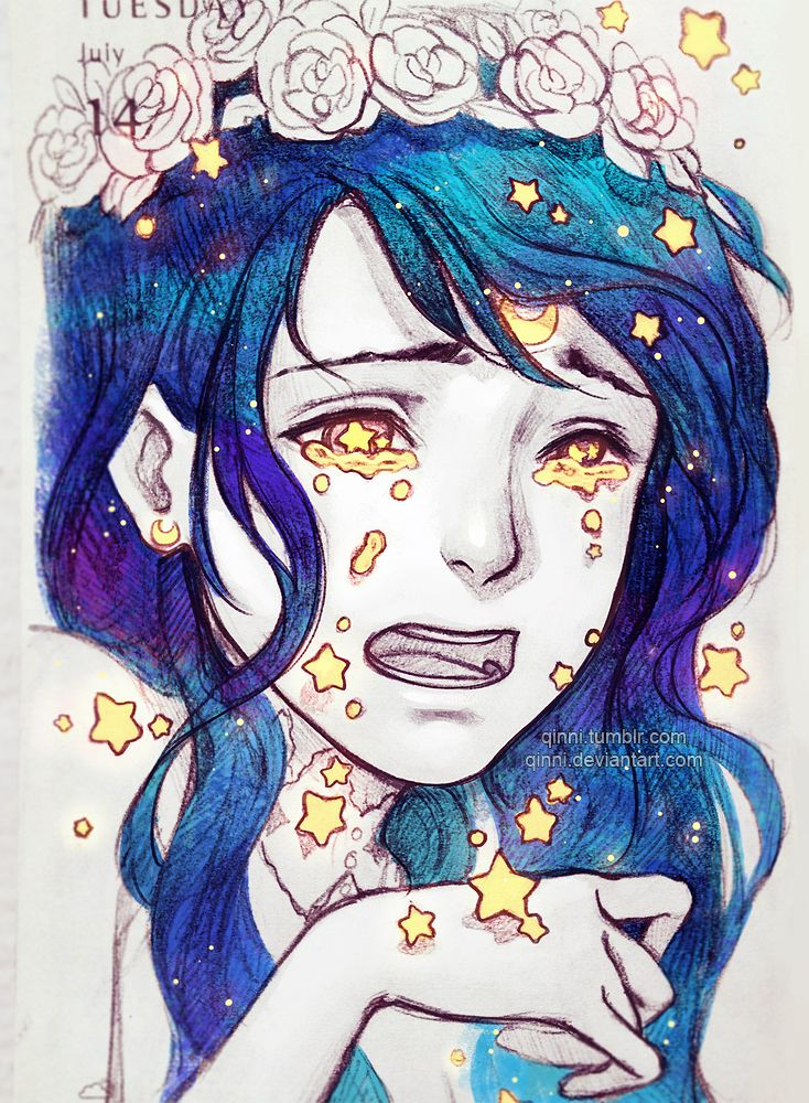 Falling Stars... by Qinni on DeviantArt
