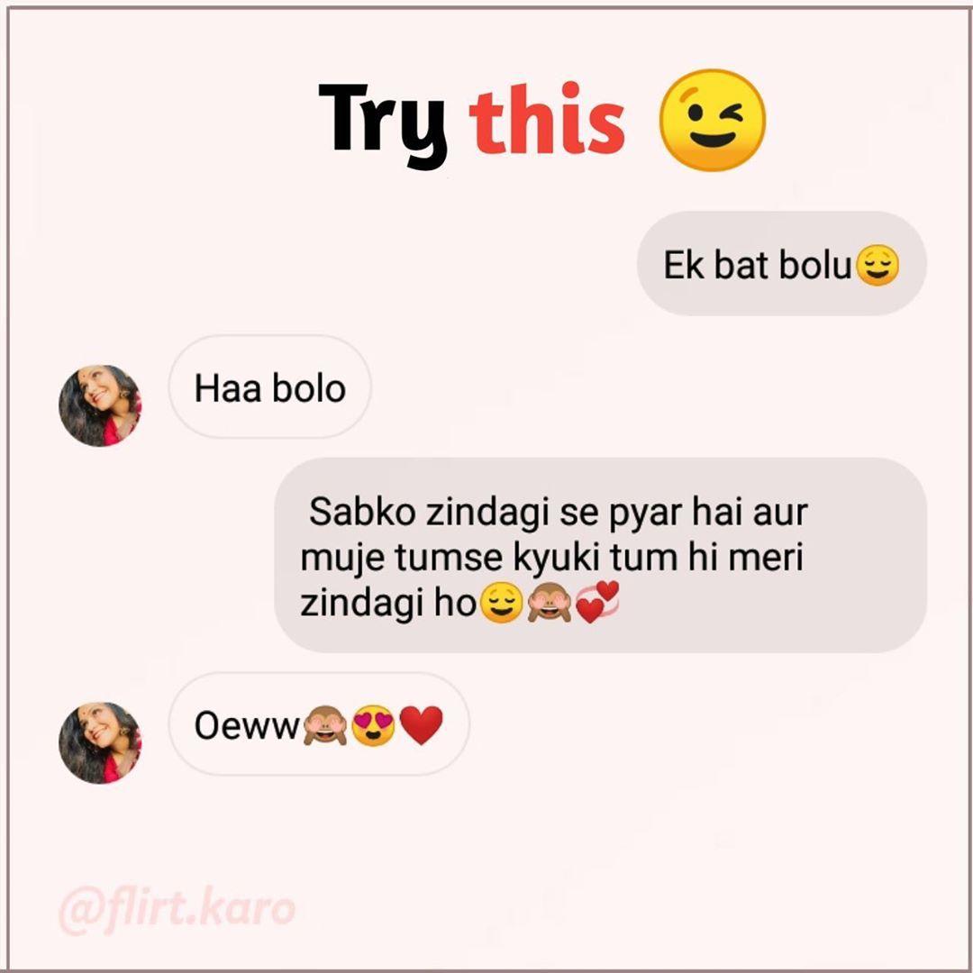 über instagram flirten