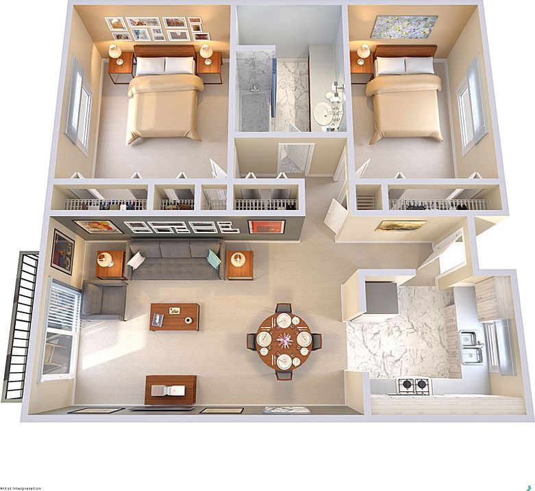 Between oakville and germantown tiny house design small layout layouts also in law suite mother suites  apartments interior rh pinterest