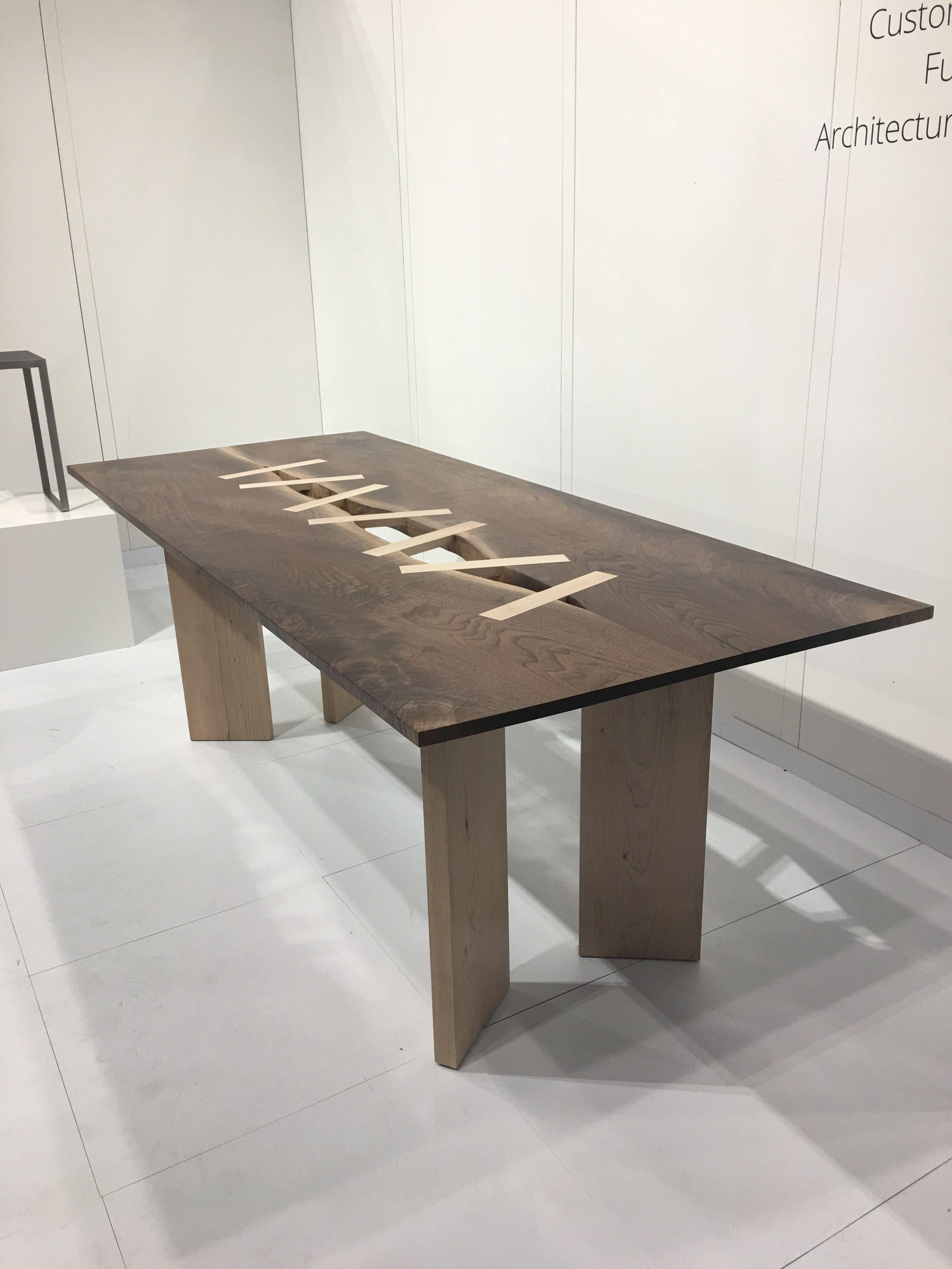 Anazao, custom ecological furniture from Canada, ICFF