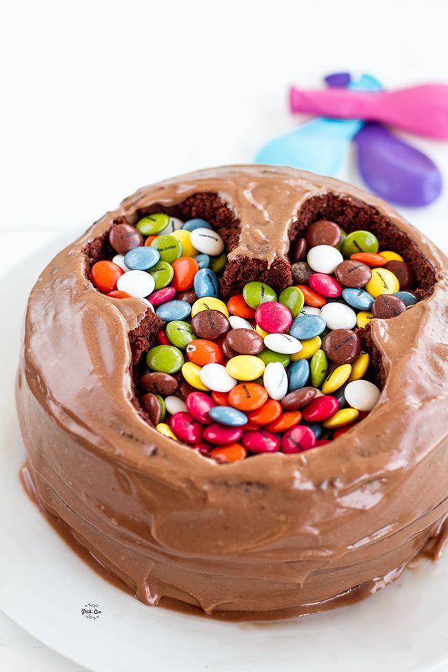 Receta de Tarta Mickey Mouse para fiesta de cumpleaños infantil