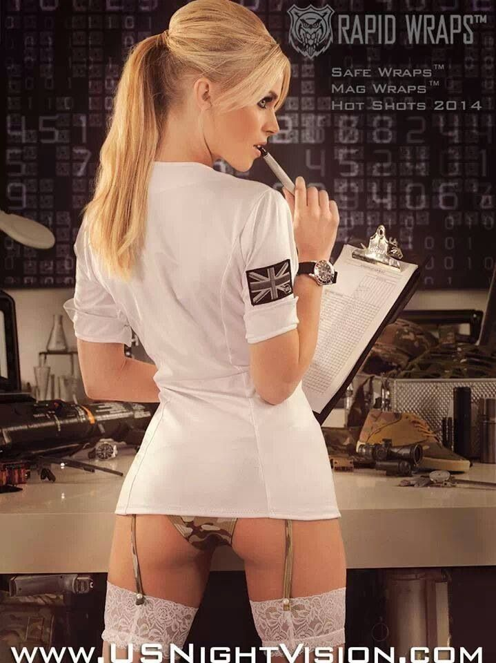 Beauty girl nude in the kitchen