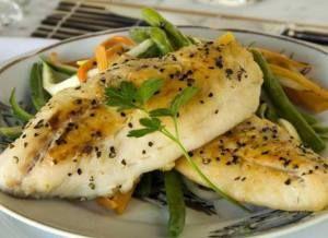 #Receta - #Pescado asado con verduras. #comida #hazlotumisma