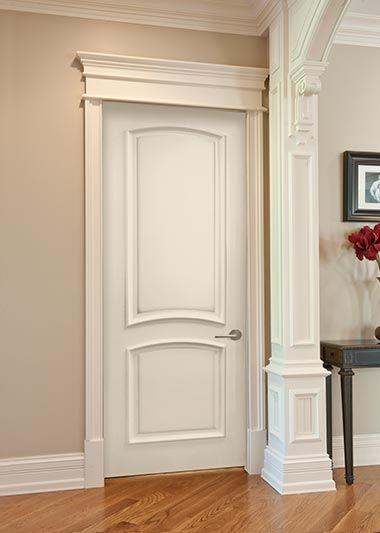 Door Trim Idea Home Pinterest Door Trims Doors And