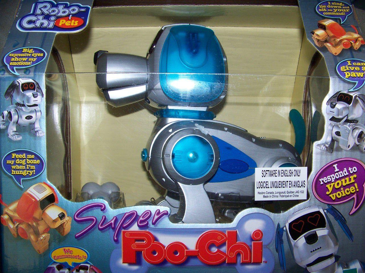 Robochi Pets Super Poochi 2000 Interactive Dog By Tiger