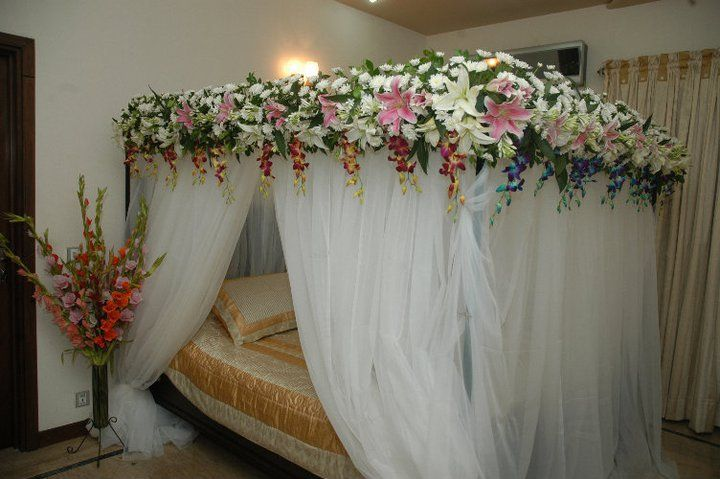 Wedding Bed Decoration Weddings Wedding Night Room Decorations