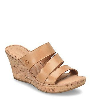 Born Marjoram Wedge Slides MBJ3Hb6X7