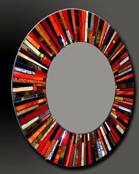 Pin de bobbie bryson en pretty things pinterest espejo for Espejos circulares decorativos