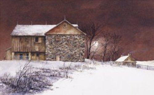 Evening at Knabb Farm by Ray Hendershot