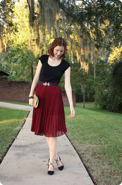 Oh pleaty skirts! You are on my list.