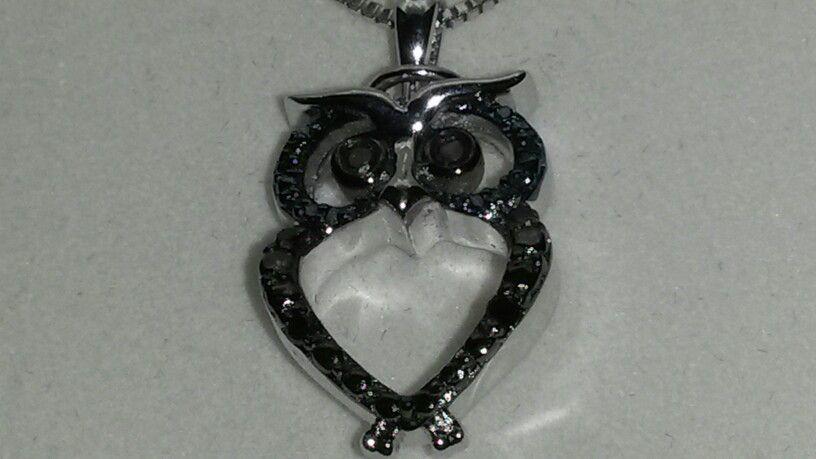 Black diamonds owl.