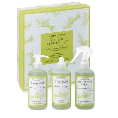 Lemongrass Ginger Kitchen Essentials Kit Williams Sonoma Kitchen