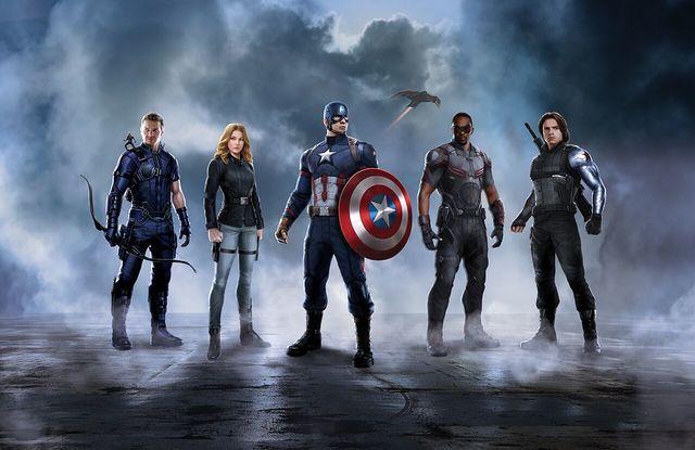 CAPTAIN AMERICA: CIVIL WAR; Promo Art Confirms Teams   moviepilot.com