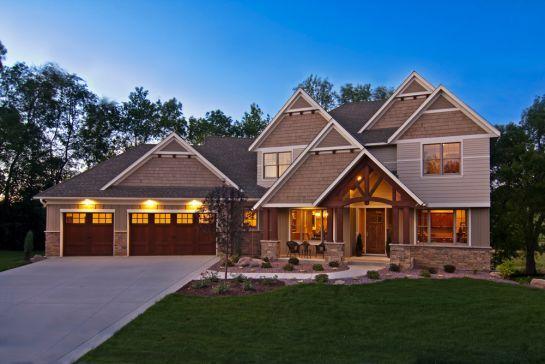 15700 55th Avenue N Plymouth Mn Creek Hill Custom Homes Craftsman Exterior House Exterior Custom Home Builders