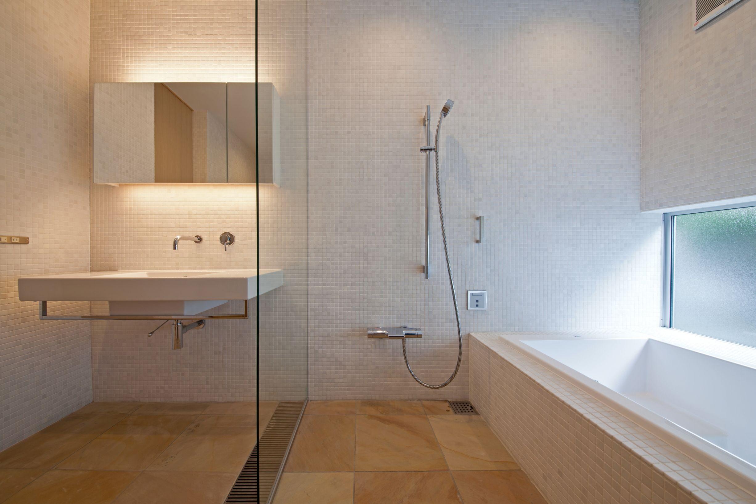 ホテルライクなバスルーム 浴室リフォーム バスルーム 家