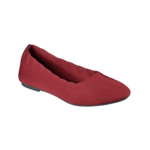 495e05d756ea Women s Skechers Cleo Bewitch Ballet Flat ( 47) ❤ liked on Polyvore  featuring shoes
