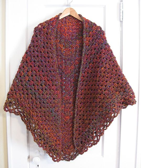 Ravelry: Crochet Triangular Shawl pattern by Jan Corbally | CAPES ...