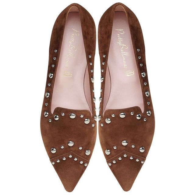 Pretty Ballerinas Ella Suede Studs in 2019 | li love the
