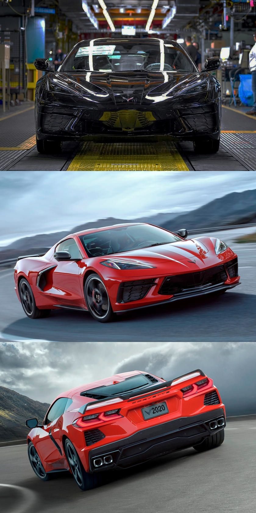 Finally! C8 Corvette Has Officially Started Production in