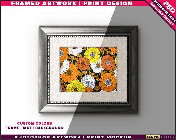 8x10 Gold & Silver Frame on Wall Custom Scene Creator | TanyDi Etsy ...