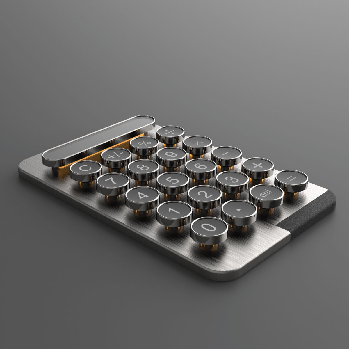 Calculator Concept Design, Designed In Autodesk Fusion 360