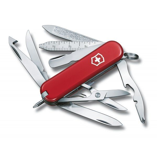 Victorinox Minichamp Classic Red Swiss Army Knife