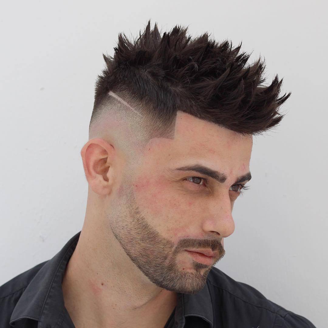 40 Simple Regular Clean Cut Haircuts For Men Spiky Hair