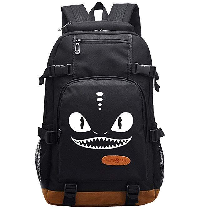 8e43e903b9 AUGYUESS Luminous Korean Canvas School Bag Rucksack Daypack Bookbag Laptop Bag  Backpack Review