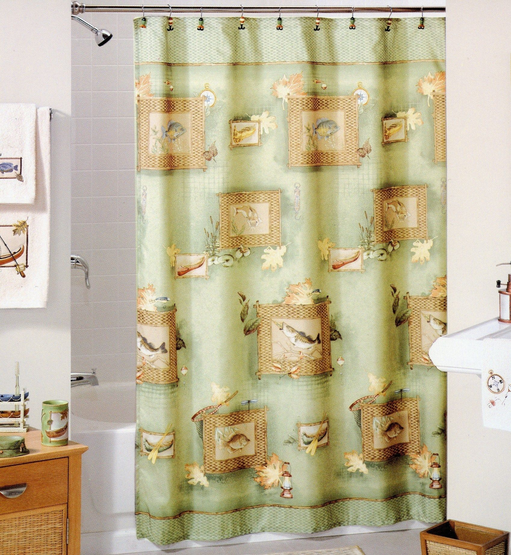 Awesome Golf Shower Curtain