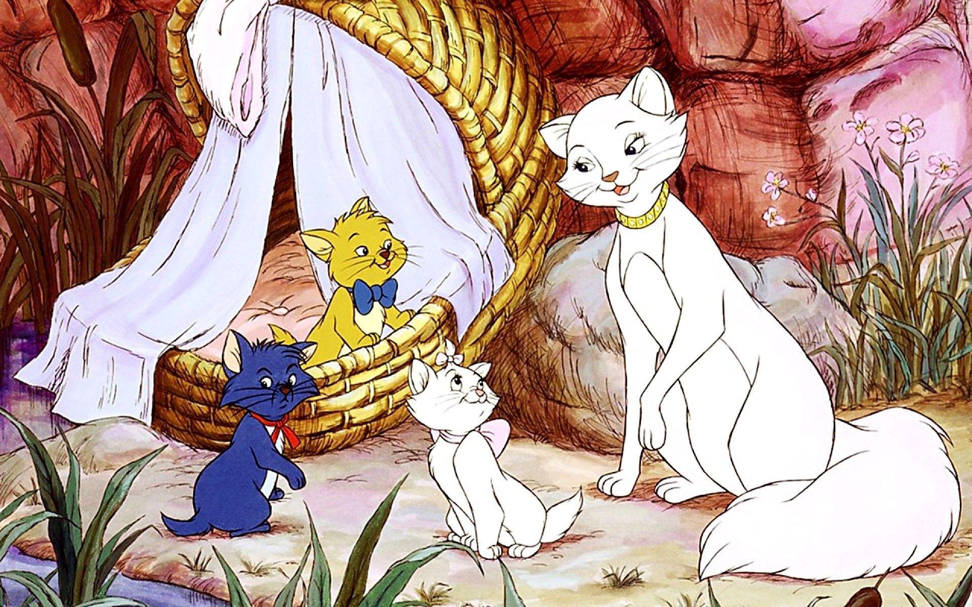 Картинки котов и кошек из мультфильмов