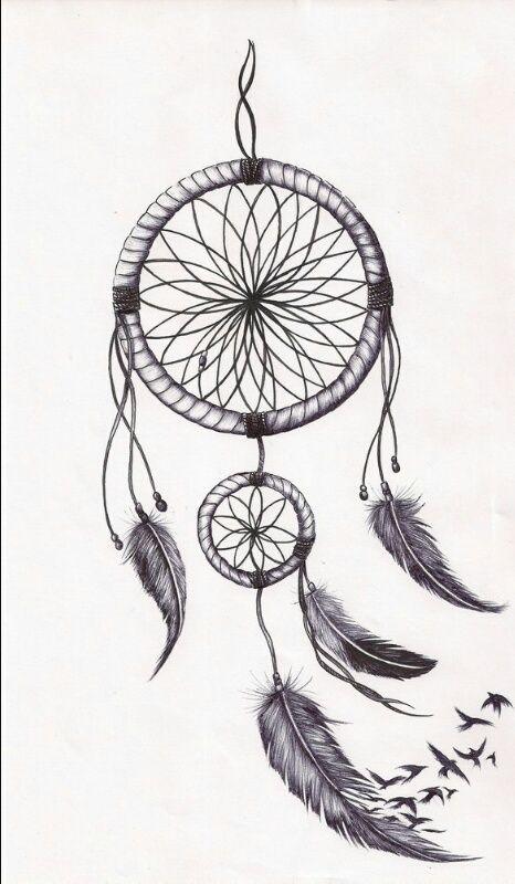Image De Drawing And Dreamcatcher Whitney Dreamcatcher Tatuajes