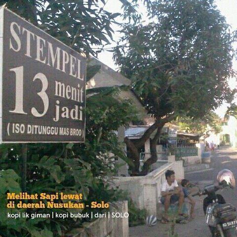 Fadjar Stempel 13 Menit Jadi On Instagram Kotasolo Surakarta Nusukan Stamp Rubberstamp Stempel Stempelwarna S Instagram Instagram Posts Highway Signs
