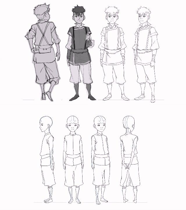 Character Design Avatar The Last Airbender : Avatar the last airbender pinterest