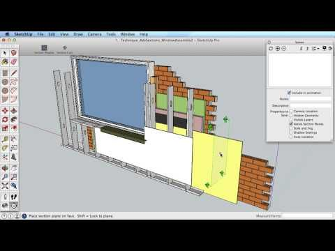 Sketchup Training Series Advanced Sections Youtube Training