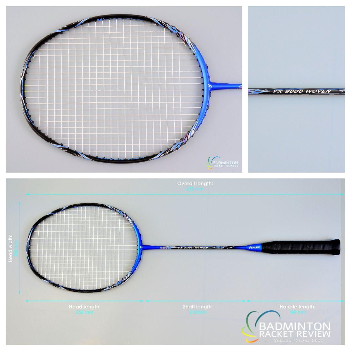 Yehlex/Fleet Woven YX8000 Badminton Racket Review. To find ...