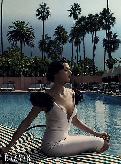 Rachel Weiz. Harper's Bazaar