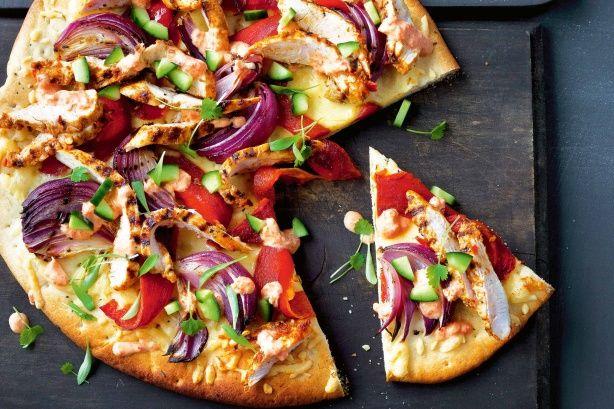 Peri peri barbecue chicken pizza recipe peri peri for Pizza peri tourcoing