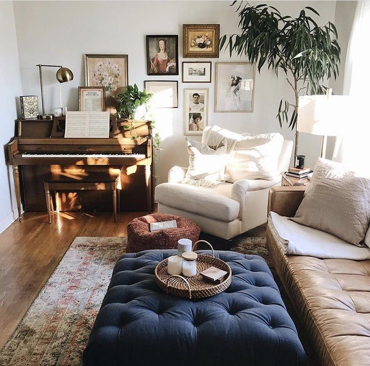 Cozy Home Corners Complete With A Piano Homedecor Style Wallart Cosy Living Room Small Cosy Living Room Comfortable Living Rooms #small #living #room #with #piano