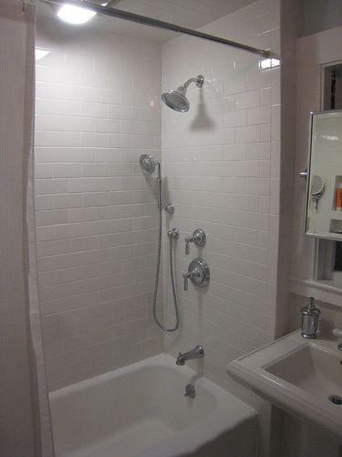 Clean Classic Bathroom With Builtin Storage A Sqft Bathroom - 30 sq ft bathroom