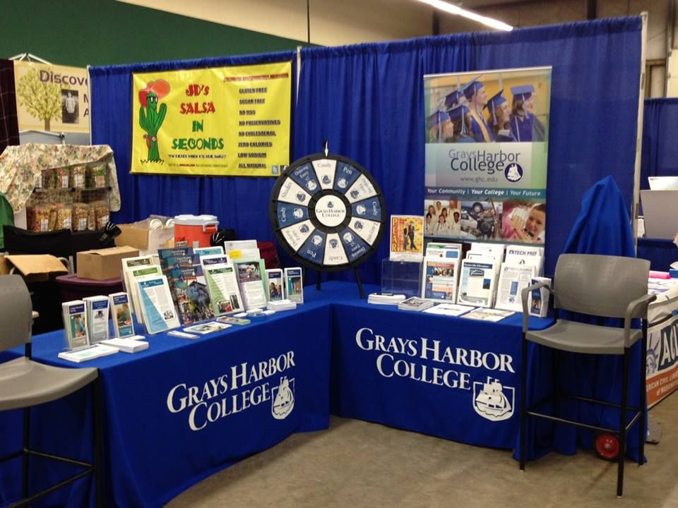 Heading to the GH County Fair? Stop by GHC's booth and