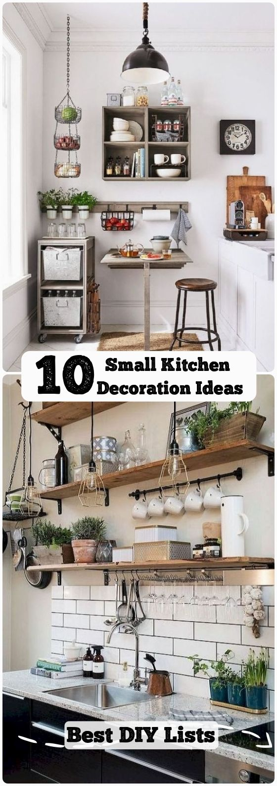 10 clever ideas for small kitchen decoration in 2020 home remodeling home decor kitchen on kitchen ideas quirky id=99662