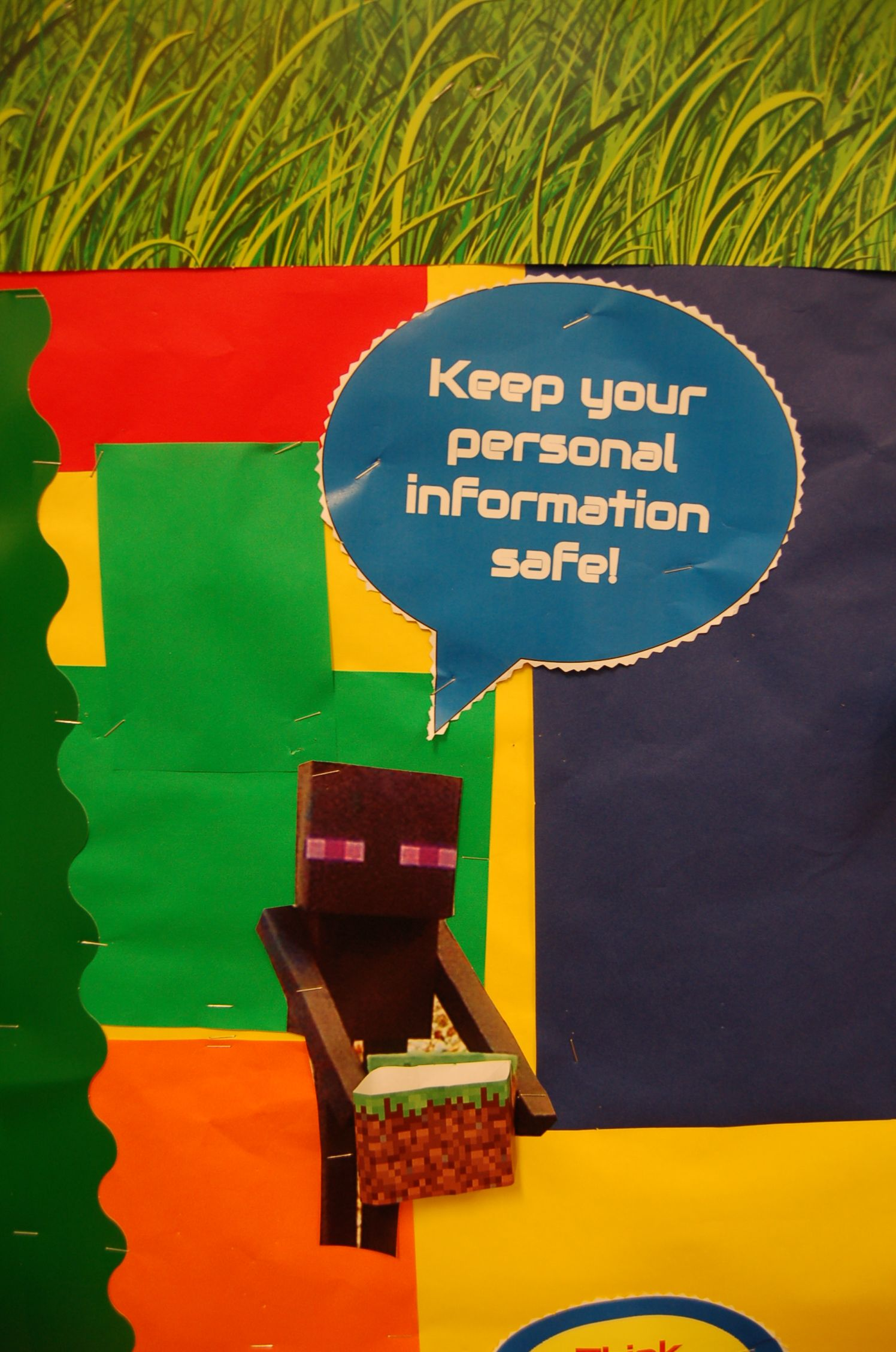 Keep your personal information safe!