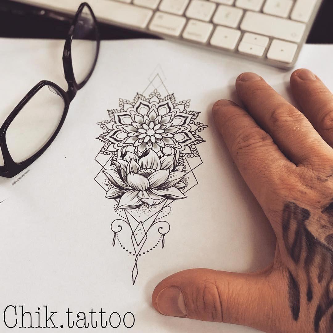 Illustrative Tattoo Mandalatattoo Full Sleeve Tattoos Tattoos Thigh Tattoo