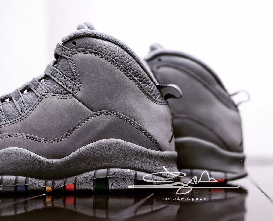 Air Jordan 10 Cool Grey 310805-022  70c10f999