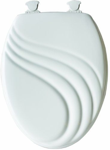 Bemis 127ec 000 Swirl Sculptured Molded Wood Toilet Seat With Lift Off Hinges Elongated White Http Www Dp B00epet9ta Ref